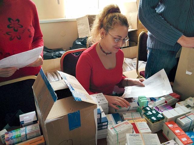 В Донецкую еврейскую общину поступила гуманитарная помощь