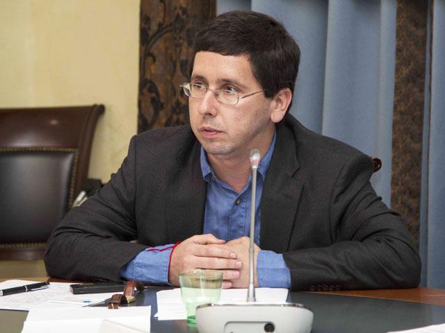 Председатель правления Фонда поддержки и развития еврейской культуры, традиций, образования и науки Михаил ЧЕРНОВ