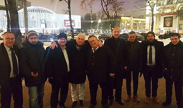 Встреча с израильской парламентской делегацией