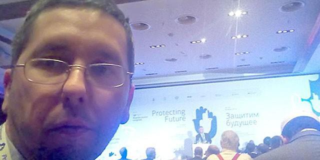 Михаил Чернов. Конференция по противодействию антисемитизму
