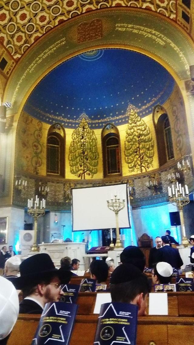 День Победы (26 ияра) в Московской хоральной синагоге