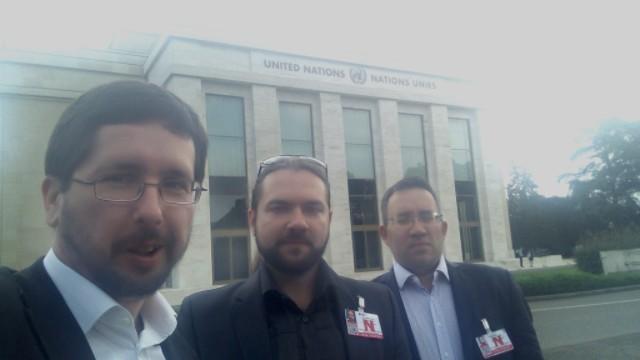 О выступлении М.Чернова на полях сессии СПЧ ООН в Женеве