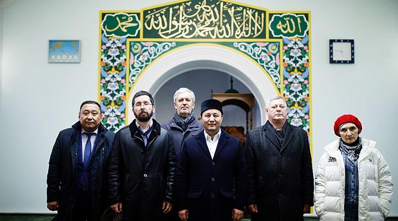 Встреча в Белой соборной мечети Томска